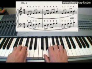piano warm up exercises